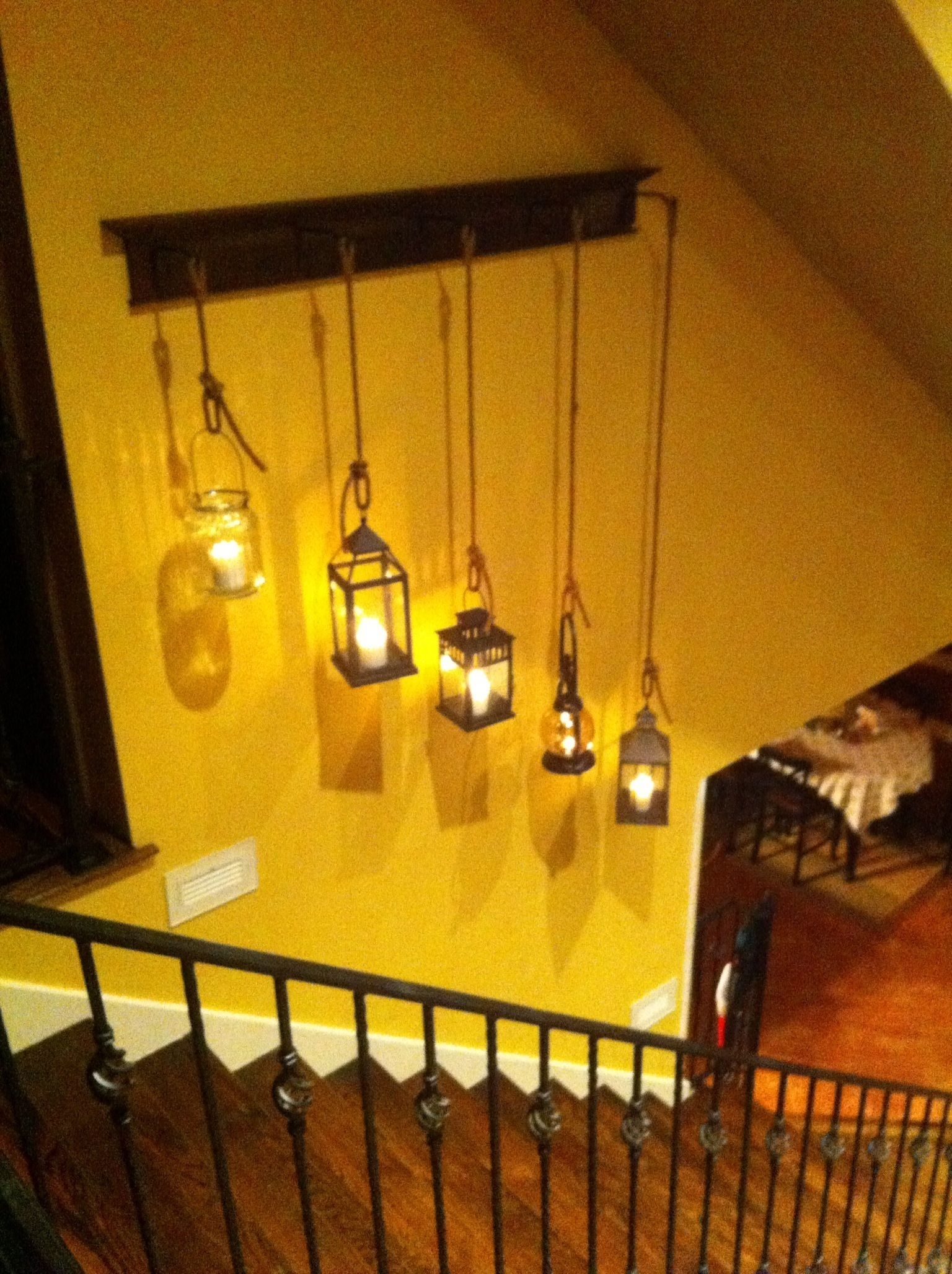 15+ Stairway Lighting Ideas For Modern And Contemporary Interiors Inside Most Recent Staircase Wall Accents (View 1 of 15)
