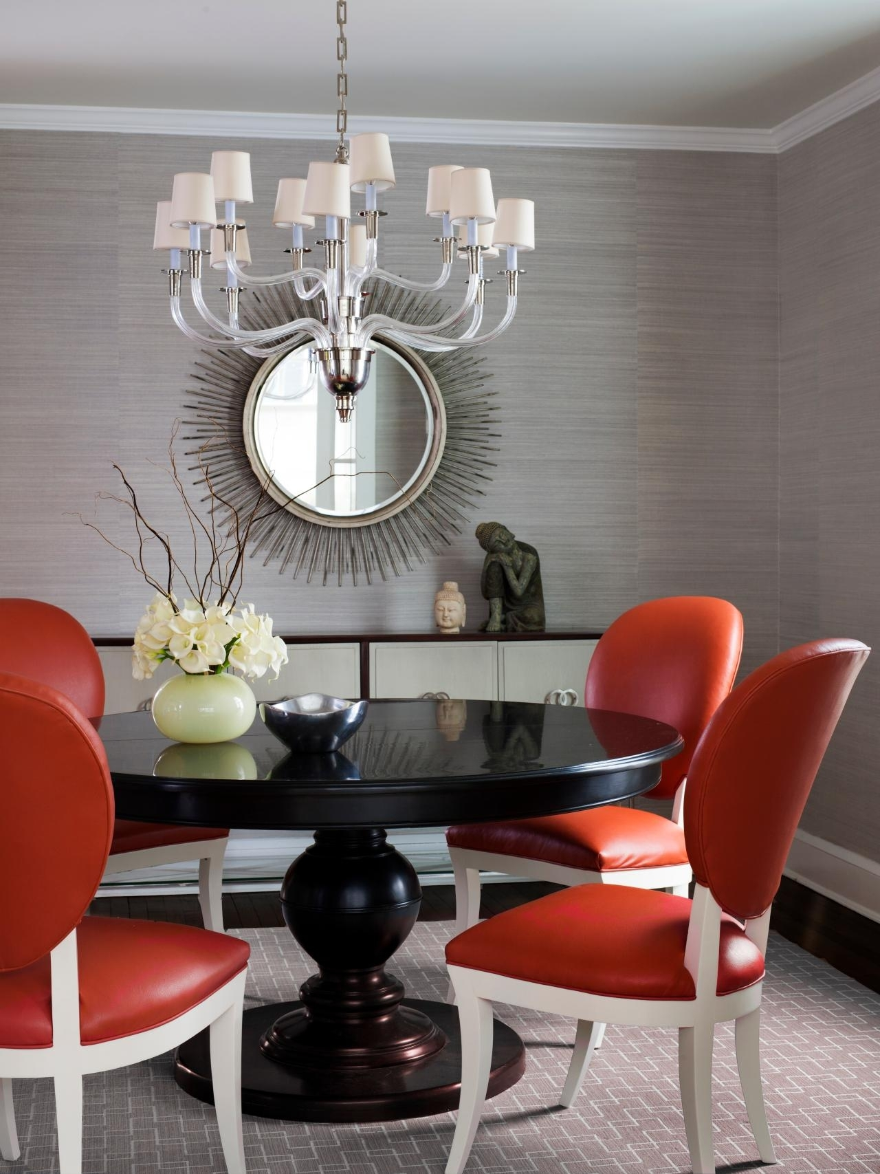 15 Ways To Dress Up Your Dining Room Walls | Hgtv's Decorating Intended For Most Popular Dining Room Wall Accents (View 1 of 15)