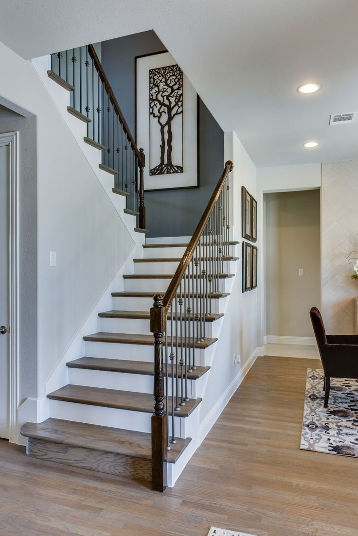 16 Best Gehan Homes Stairway Gallery Images On Pinterest Regarding Latest Staircase Wall Accents (View 3 of 15)