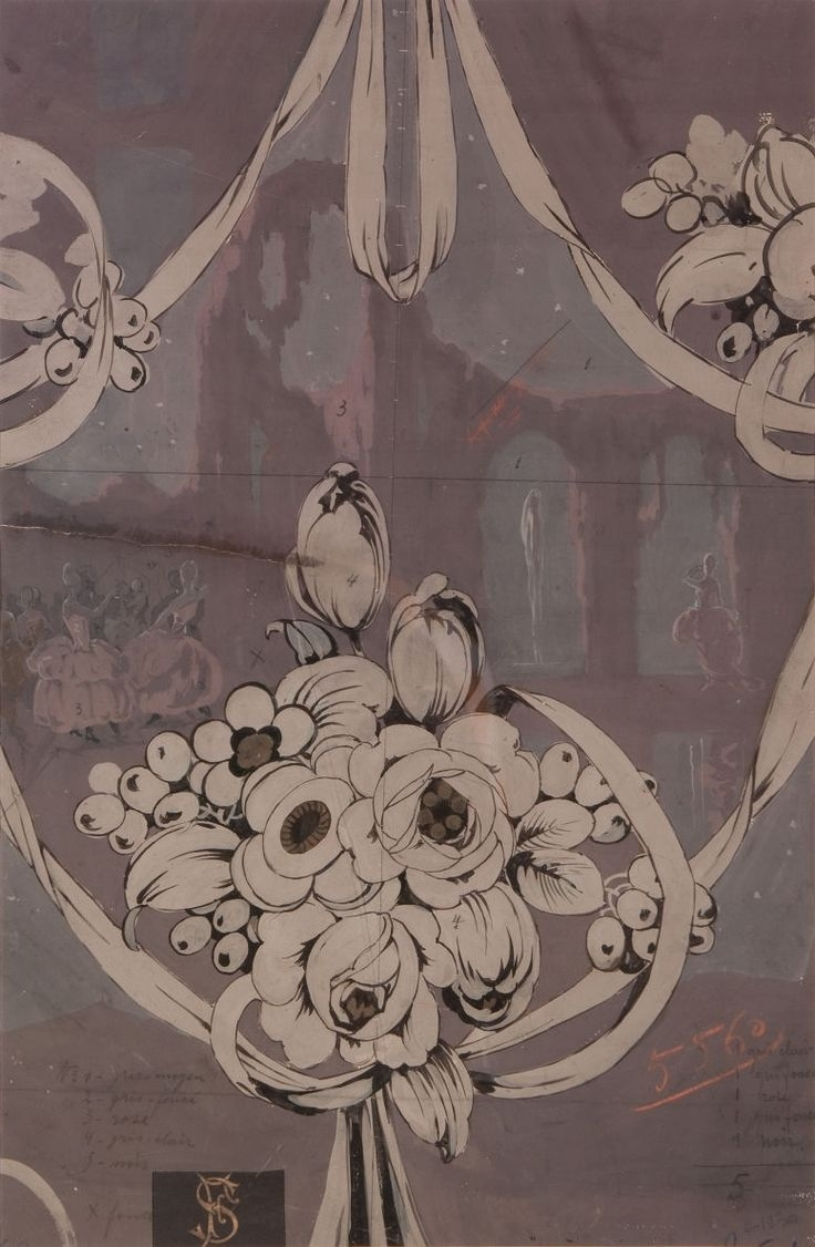 178 Best Art Deco Wall Paper Images On Pinterest | Ceiling Intended For Most Recent Art Deco Wall Fabric (View 7 of 15)