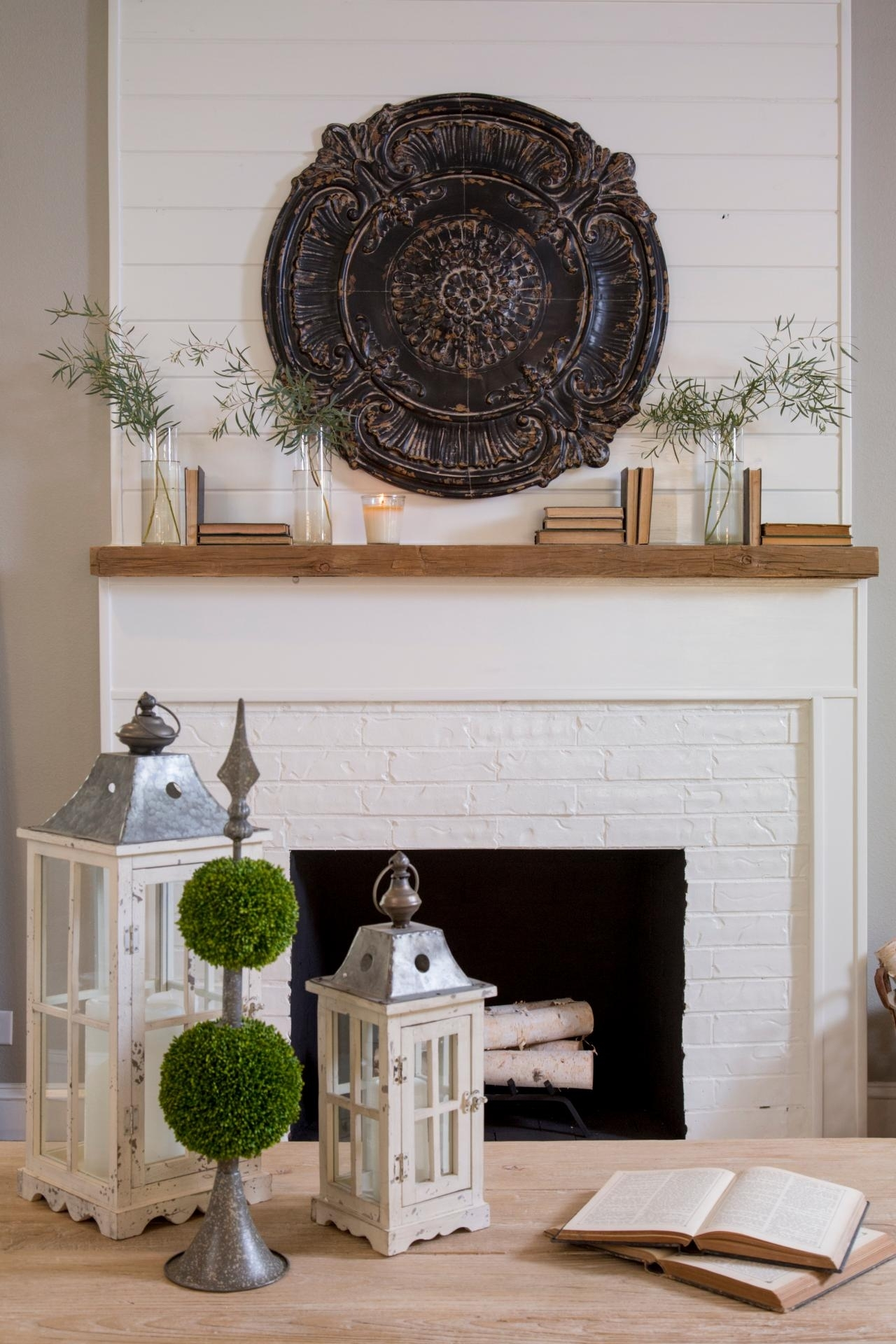 18 Genius Wall Decor Ideas | Hgtv's Decorating & Design Blog | Hgtv Within Most Popular Wall Accents Over Fireplace (View 2 of 15)