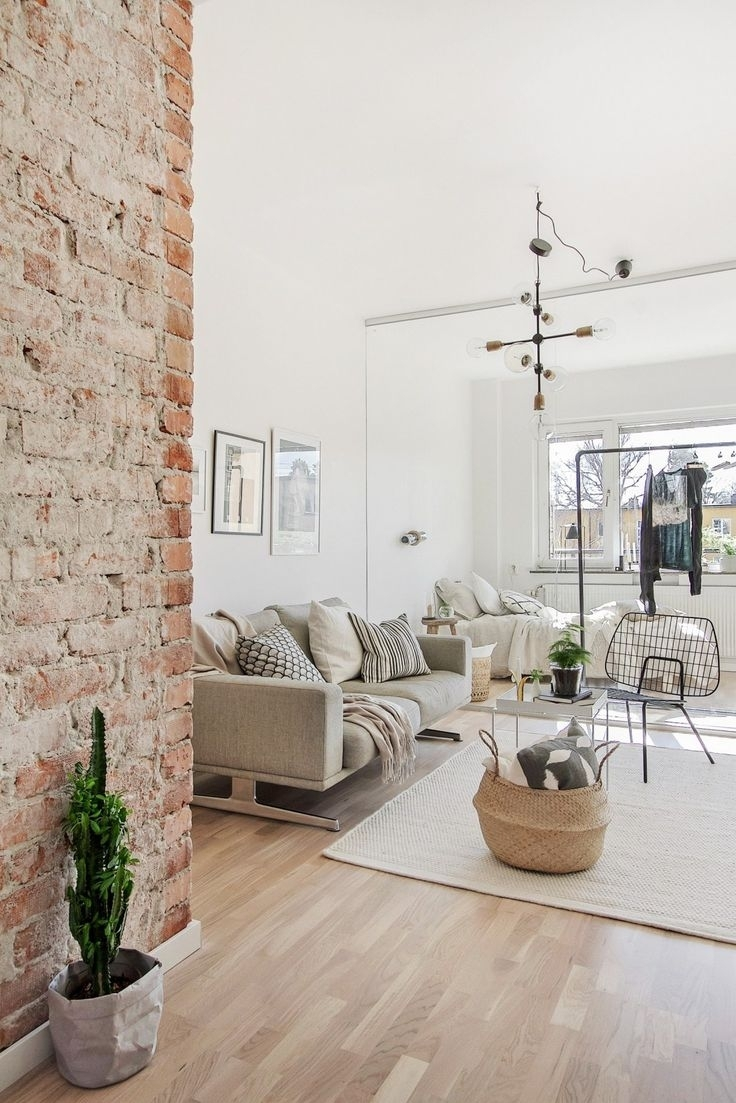 186 Best Exposed Bricks Images On Pinterest Brick Wall Decor Brick Throughout Most Popular Brick Wall Accents (View 1 of 15)