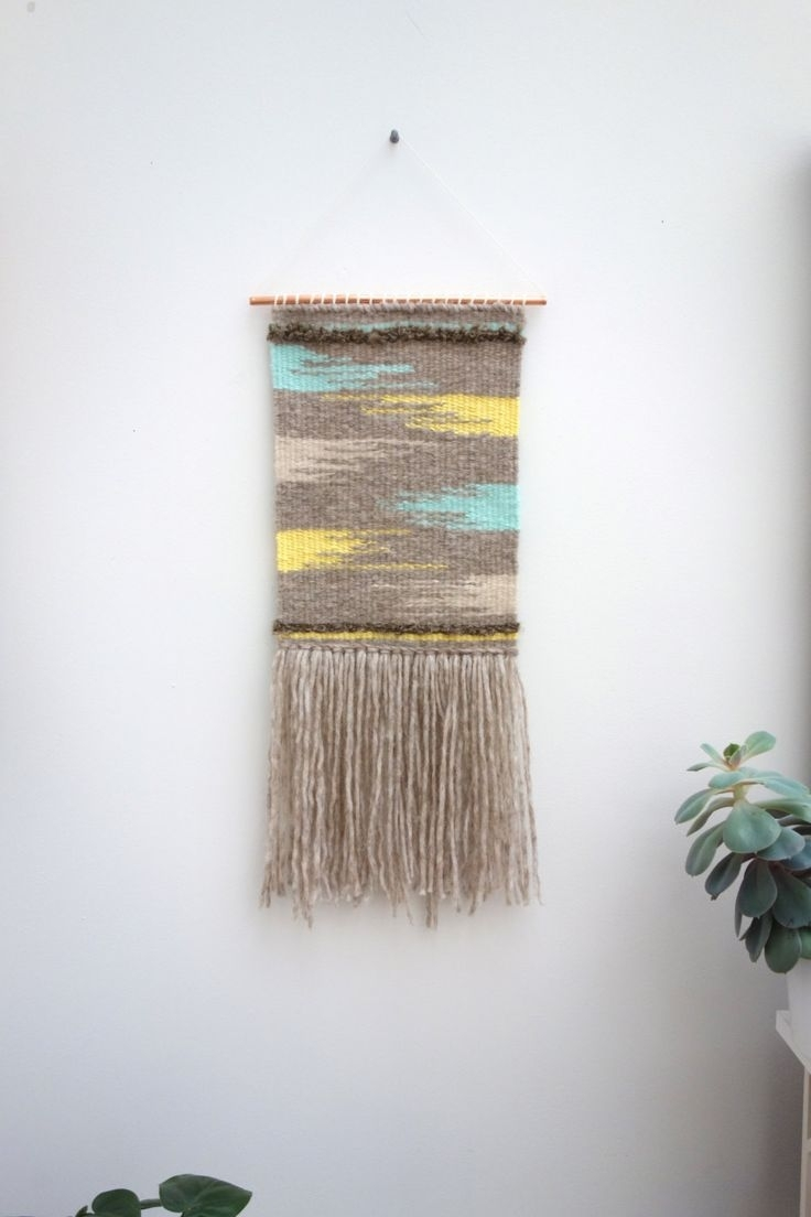 188 Best Woven Images On Pinterest | Weaving, Closure Weave And With Regard To Best And Newest Mid Century Textile Wall Art (View 1 of 15)