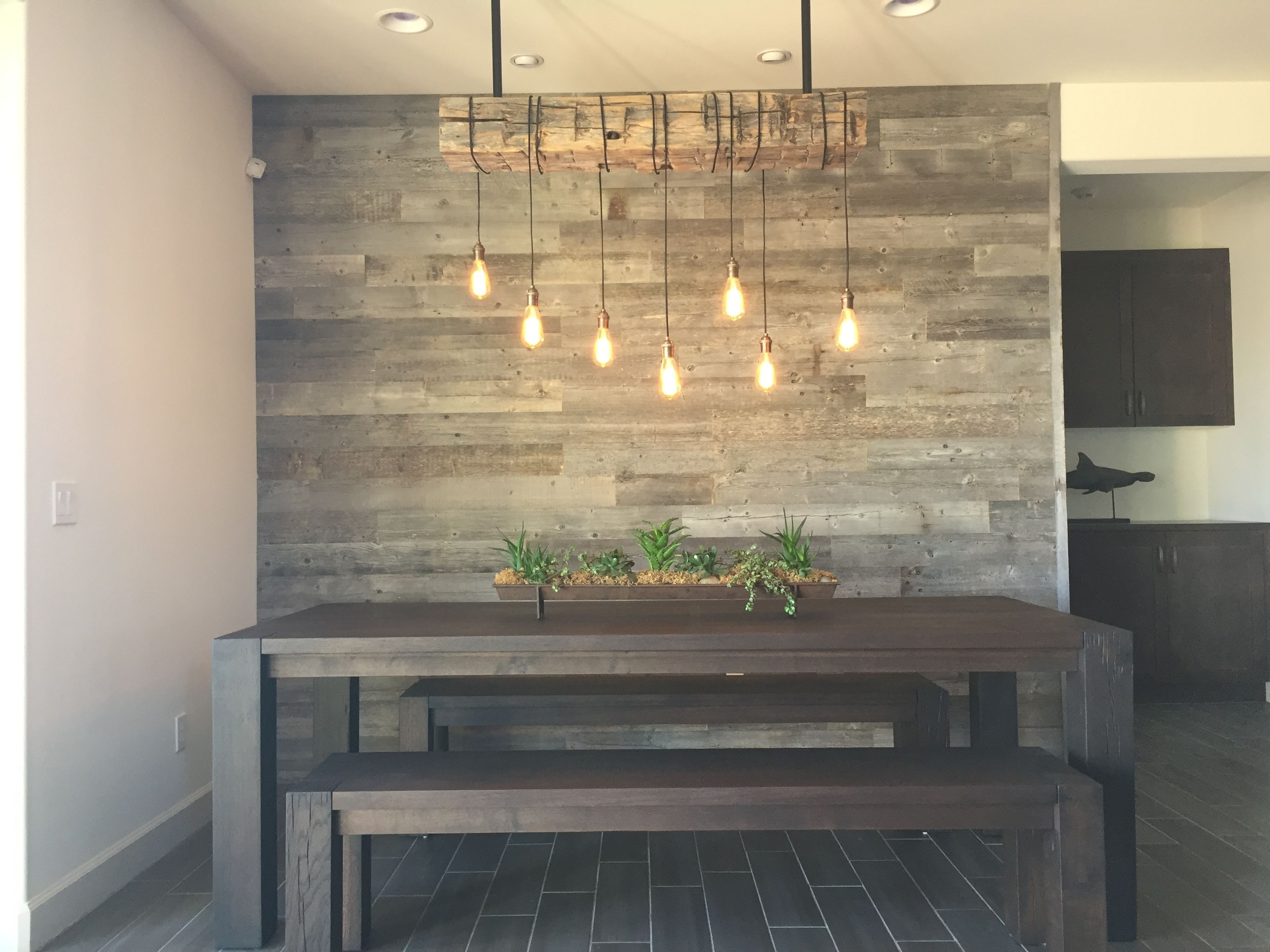 19 Awesome Accent Wall Ideas To Transform Your Living Room | Wall Inside Most Recently Released Reclaimed Wood Wall Accents (View 7 of 15)