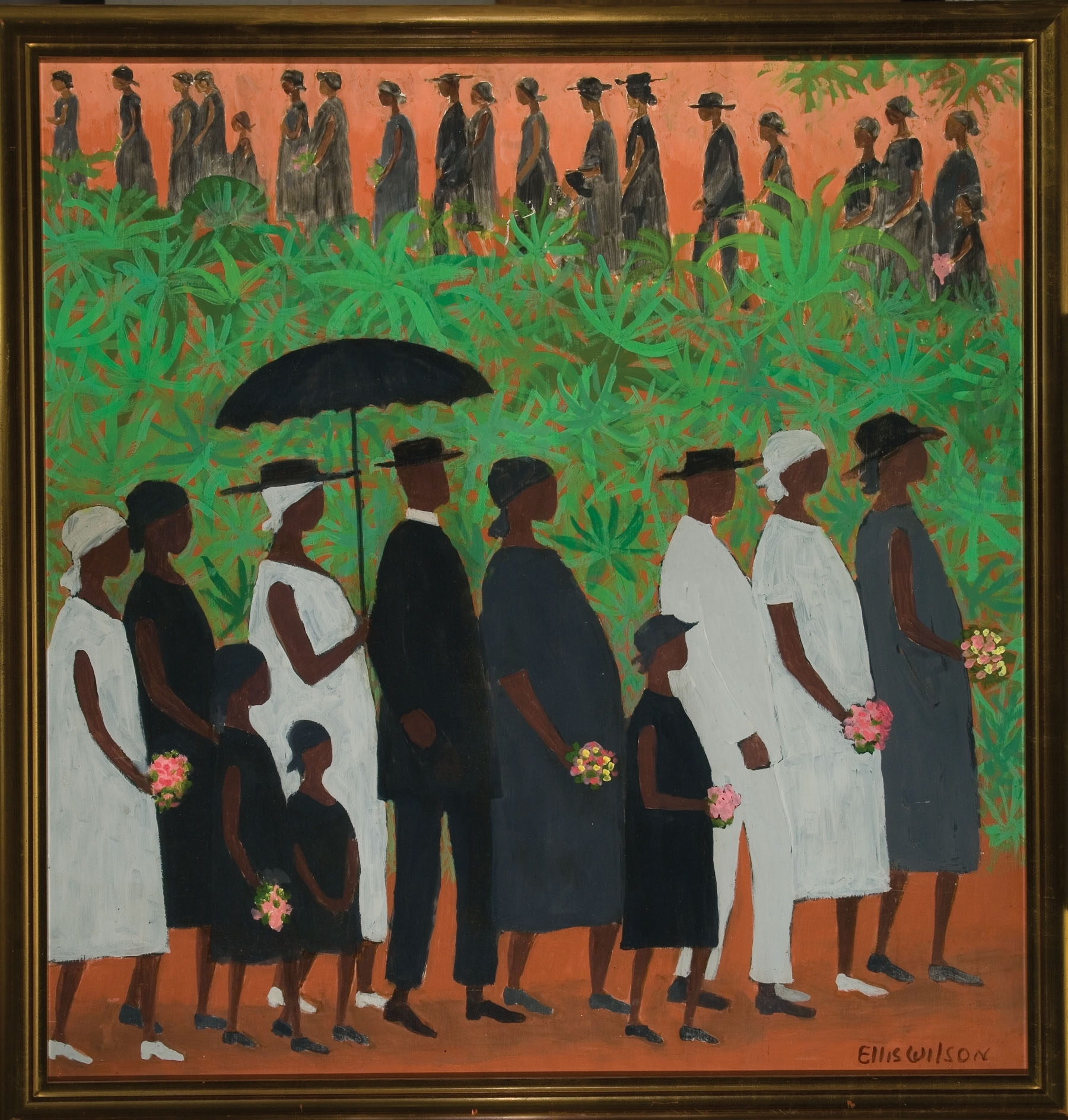 1954, Funeral Procession, Ellis Wilson (American 1899 1977 Regarding 2018 Framed African American Art Prints (View 1 of 15)