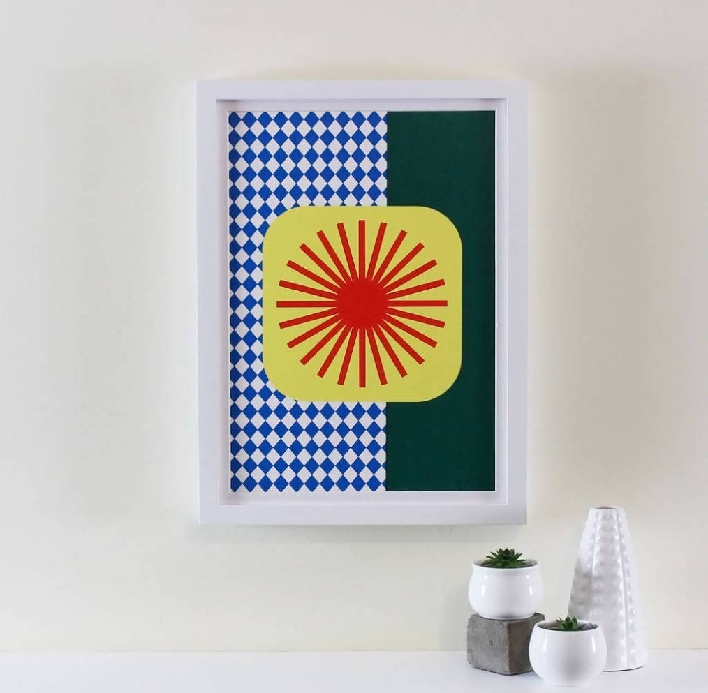 20 Photo Of Mid Century Modern Wall Art Within 2017 Mid Century Textile Wall Art (View 2 of 15)