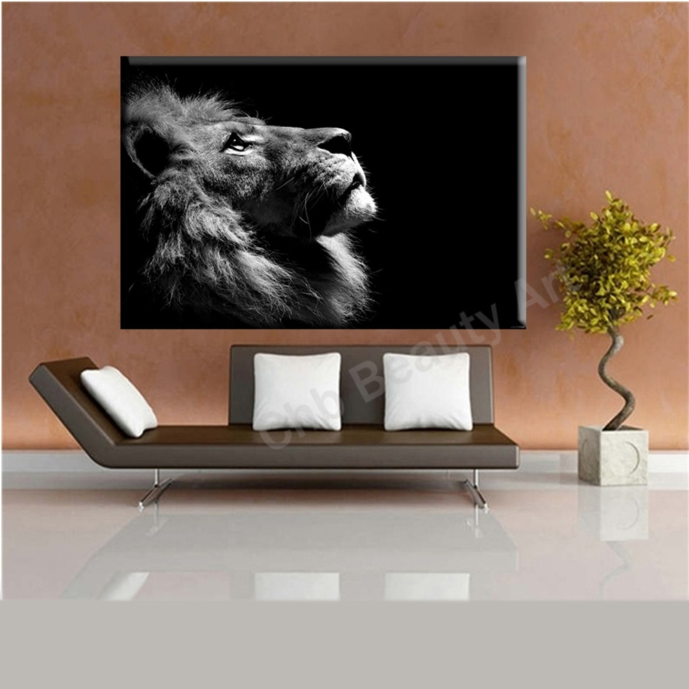 2016 Lion King Wall Art Canvas Prints Modern Art Painting Wall In Most Recently Released Lion King Canvas Wall Art (Gallery 11 of 15)