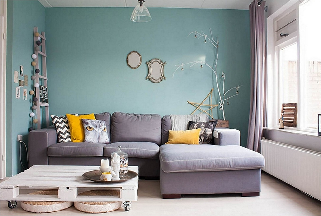 2017 Color Trends For Your Home Interior, According To Paint Within Current Light Blue Wall Accents (View 4 of 15)