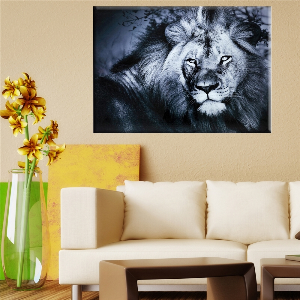 2017 Lion King Wall Art Oil Painting On Canvas Wall Pictures For For Most Current Lion King Canvas Wall Art (Gallery 13 of 15)