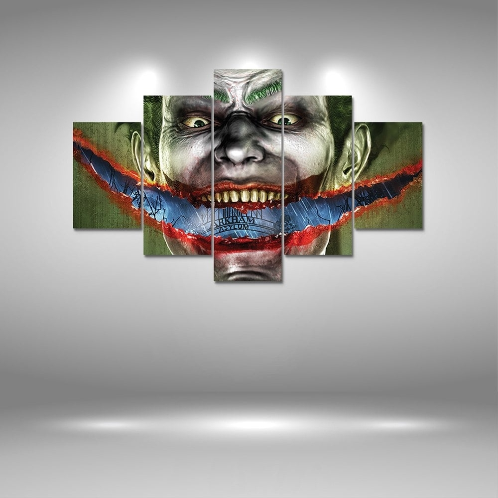 2018 Joker Canvas Print Painting Home Decoration Wall Art Picture Within Most Recently Released Joker Canvas Wall Art (View 13 of 15)