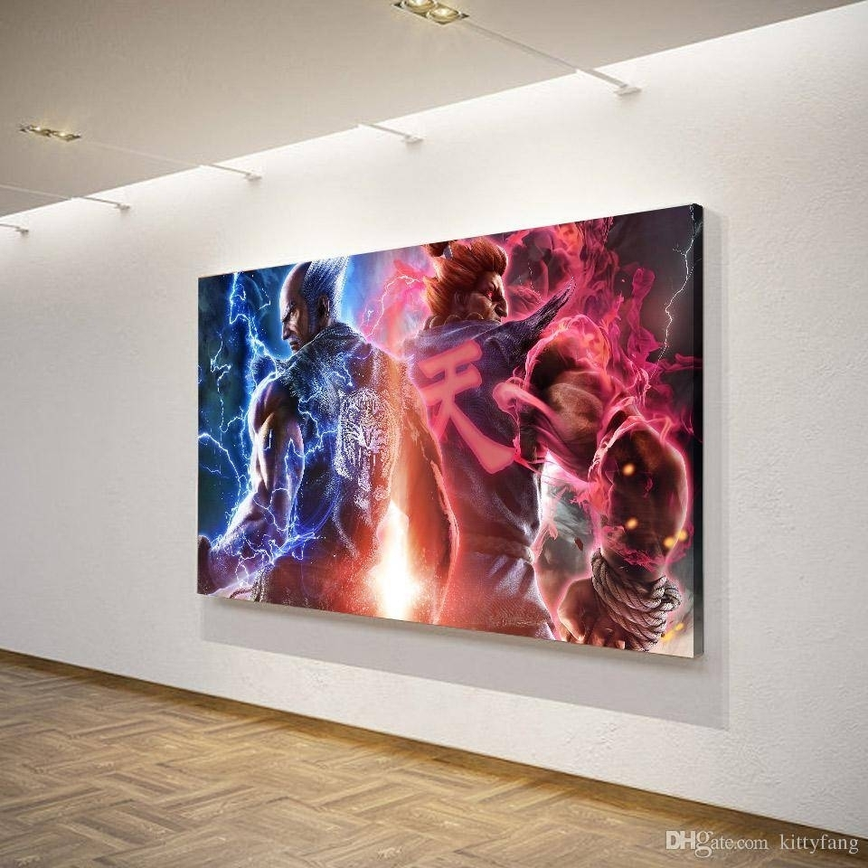 2018 Latest 7 Piece Canvas Wall Art Intended For Most Popular Gaming Canvas Wall Art (View 1 of 15)
