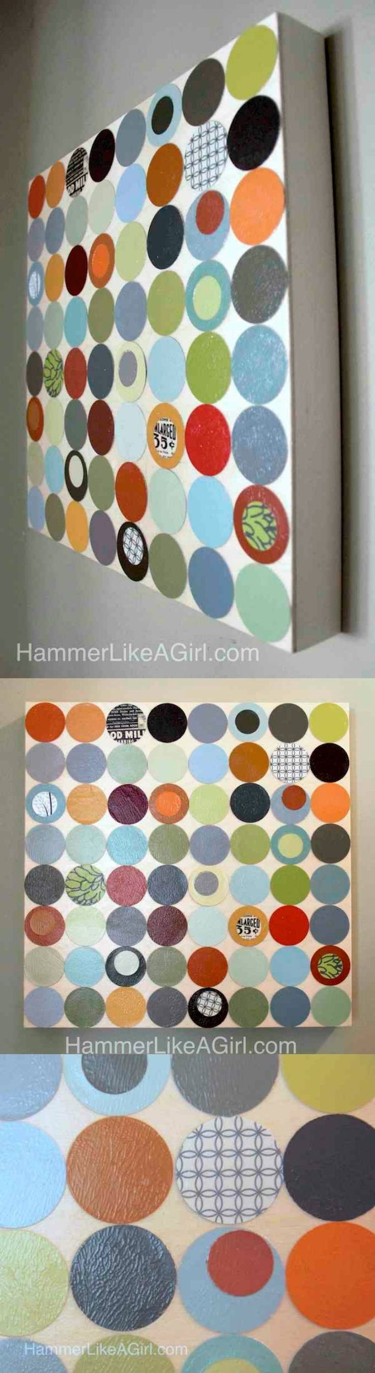 203 Best Wall Art & Ideas Images On Pinterest | Projects, Crafts For Most Recent Fabric Swatch Wall Art (View 11 of 15)