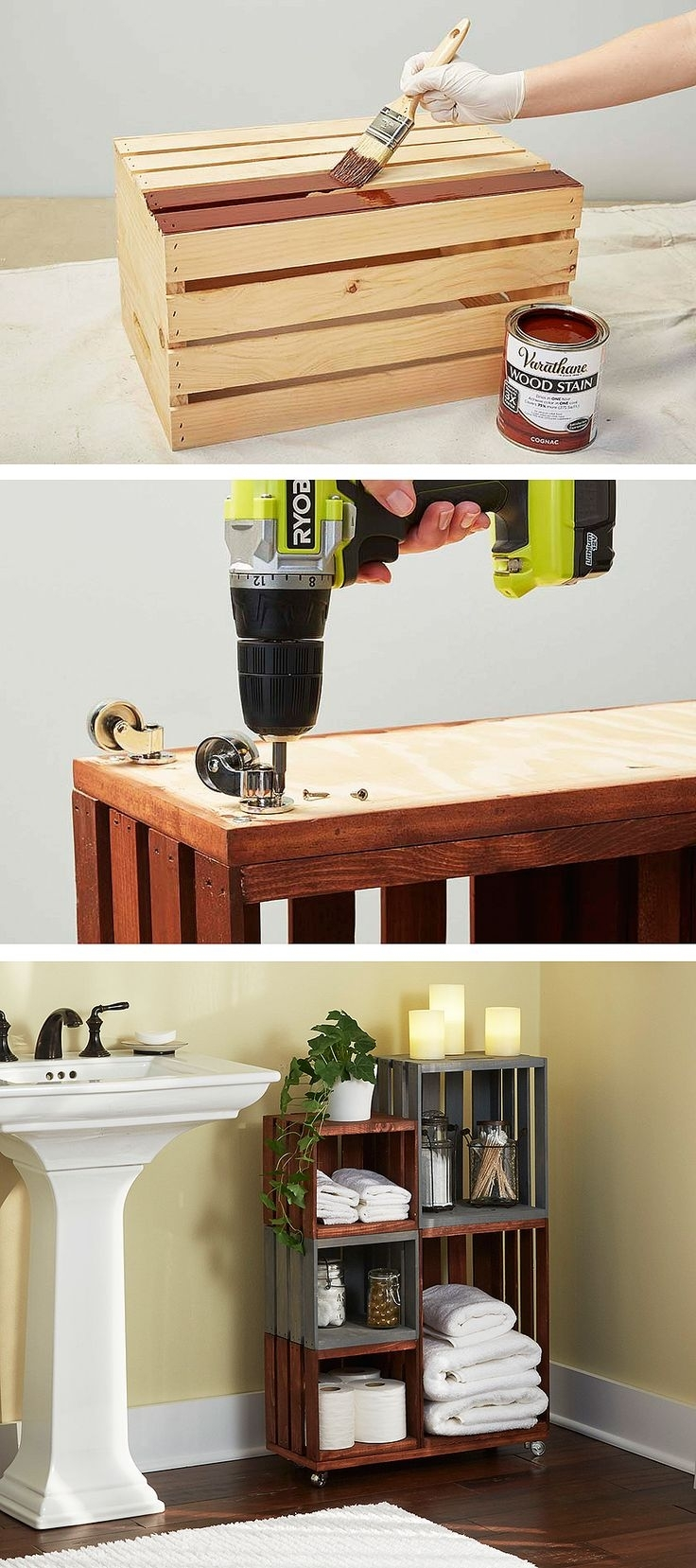 211 Best Diy Pallet & Wood Crate Projects Images On Pinterest For Most Popular Wall Accents Made From Pallets (View 13 of 15)