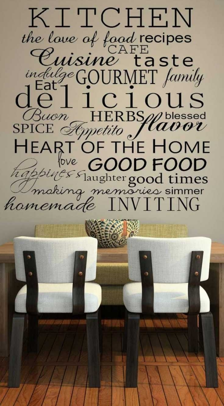 22 Ideas Of Kitchenwalldecor Tjihome (View 1 of 15)