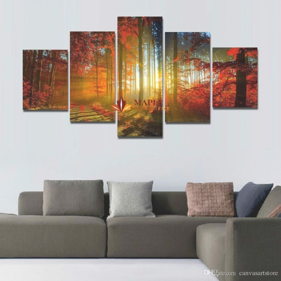 22 Photo Of 5 Piece Canvas Wall Art Intended For Recent Kohls 5 Piece Canvas Wall Art (View 4 of 15)