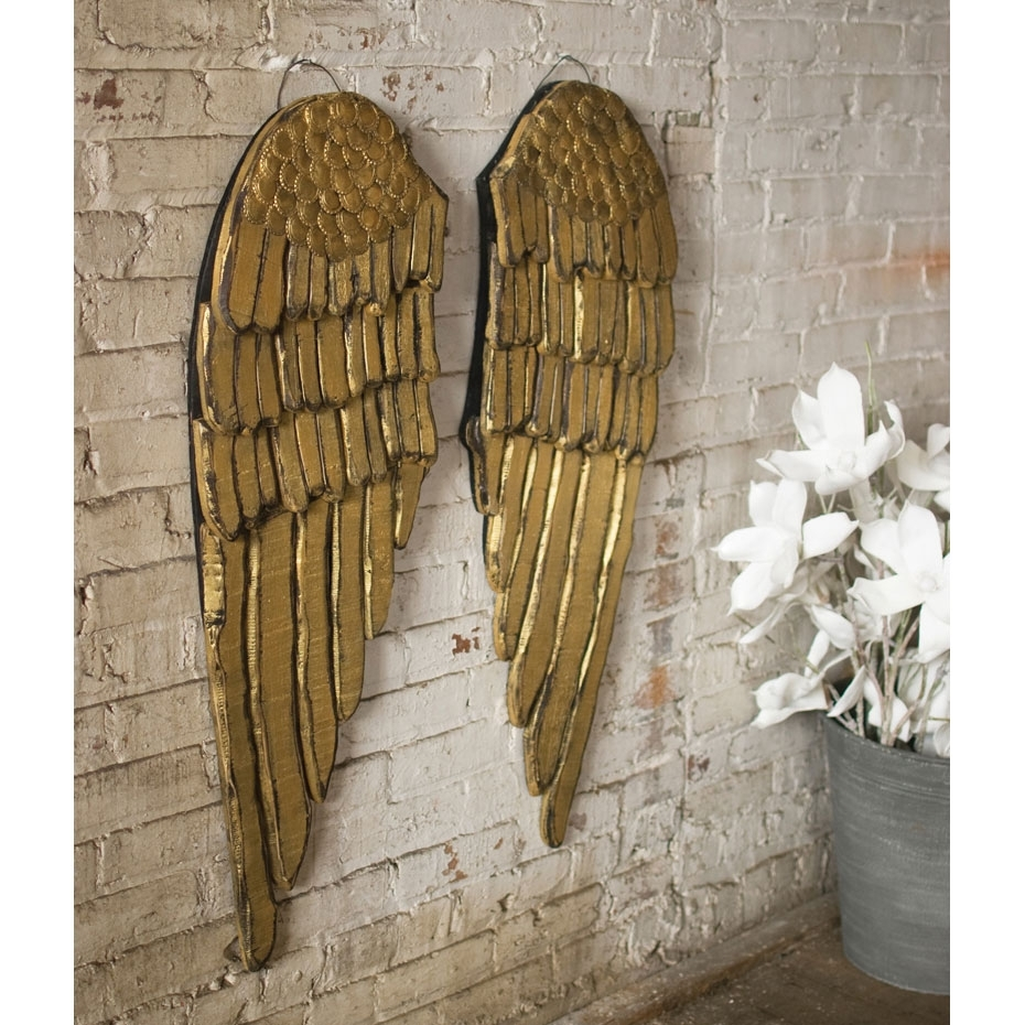 24 Nonpareil Gold Wall Decor That Surprising Regarding Current Gold Wall Accents (View 1 of 15)