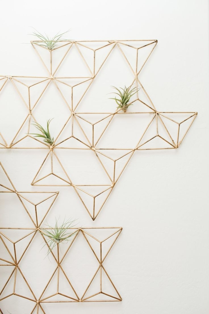240 Best Ave Styles Blog Images On Pinterest | Style Blog, Advice Within Most Popular Geometric Shapes Wall Accents (View 2 of 15)