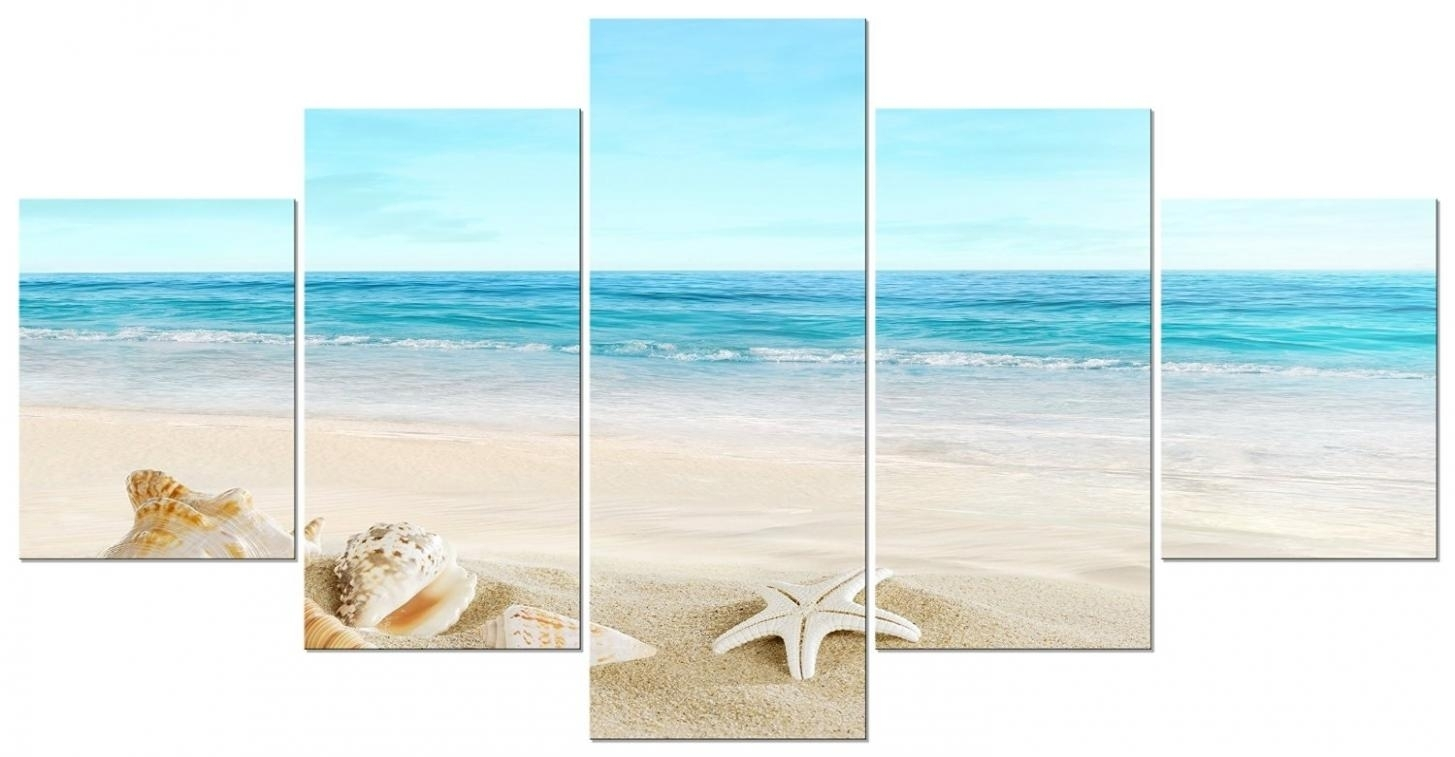 Featured Photo of Canvas Wall Art Beach Scenes