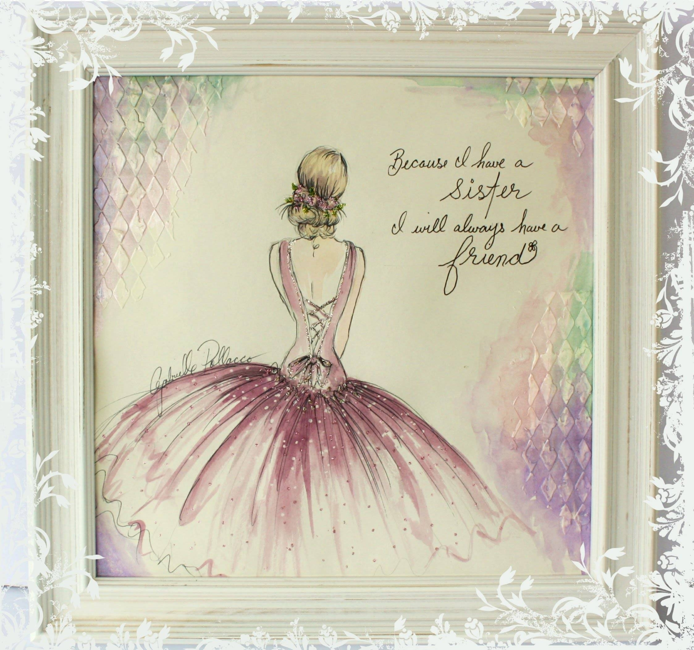 25 Best Collection Of Shabby Chic Canvas Wall Art Within Best And Newest Shabby Chic Framed Art Prints (View 2 of 15)