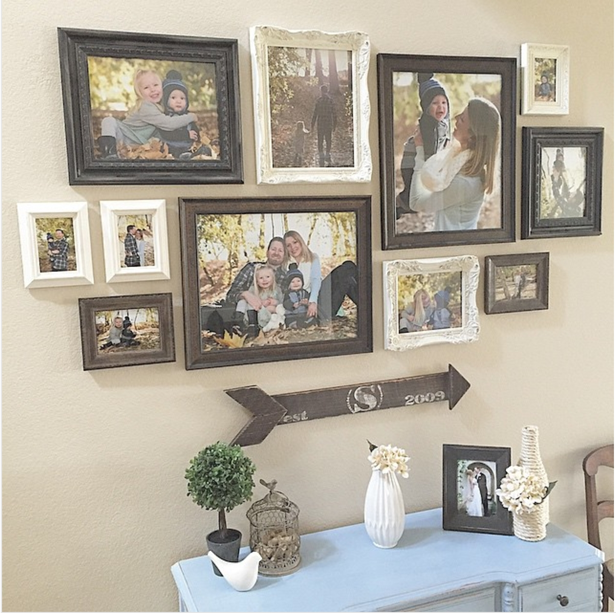 25 Must Try Rustic Wall Decor Ideas Featuring The Most Amazing With Most Current Frames Wall Accents (Gallery 5 of 15)