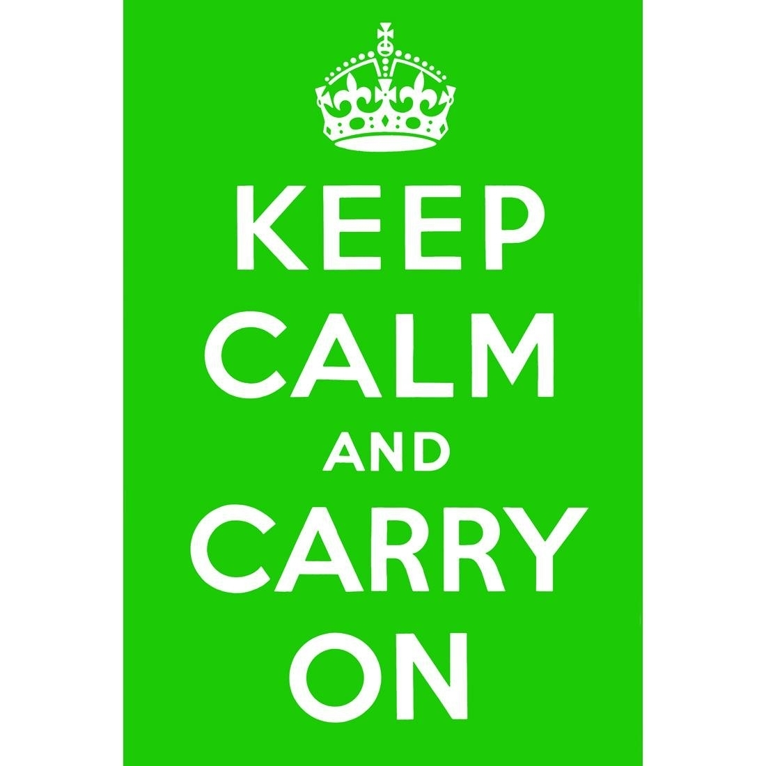 25 The Best Keep Calm And Carry On Wall Art In Current Keep Calm Canvas Wall Art (Gallery 6 of 15)