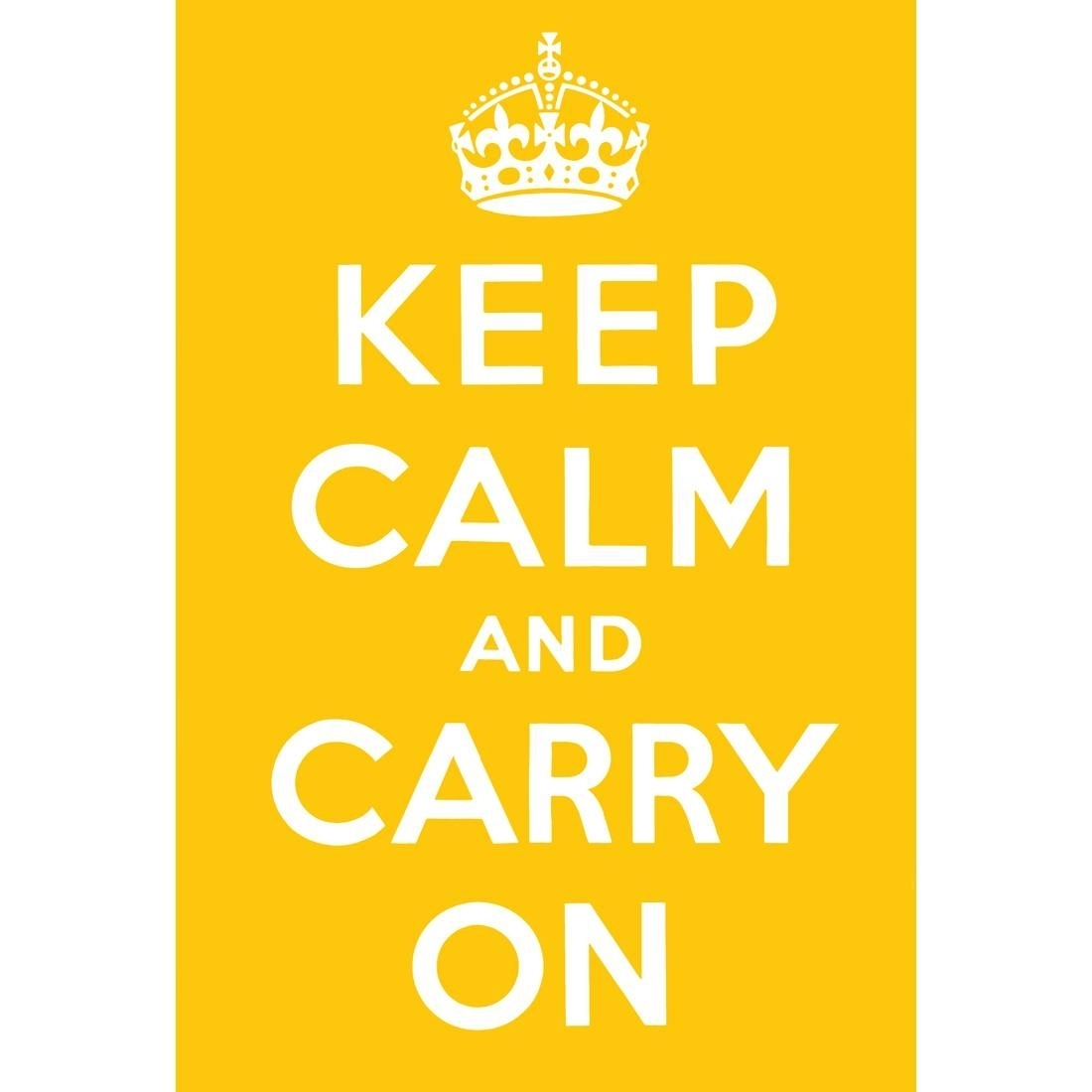 25 The Best Keep Calm And Carry On Wall Art Regarding Most Recently Released Keep Calm Canvas Wall Art (View 4 of 15)