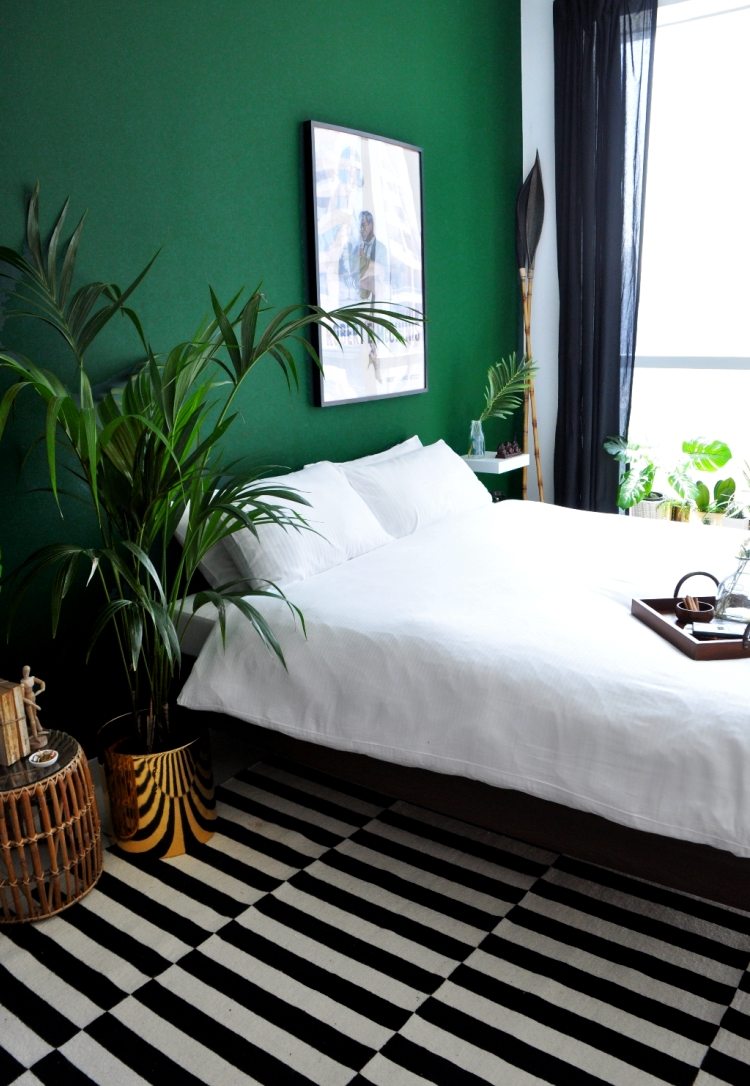 26 Awesome Green Bedroom Ideas | Green Bedroom Design, Green Throughout Best And Newest Green Room Wall Accents (Gallery 15 of 15)