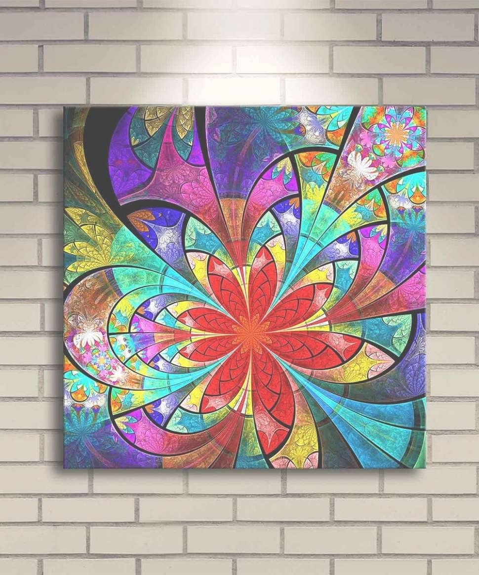 29 Inspirations Of Stained Glass Wall Art With Regard To Most Recently Released Modern Textile Wall Art (View 2 of 15)
