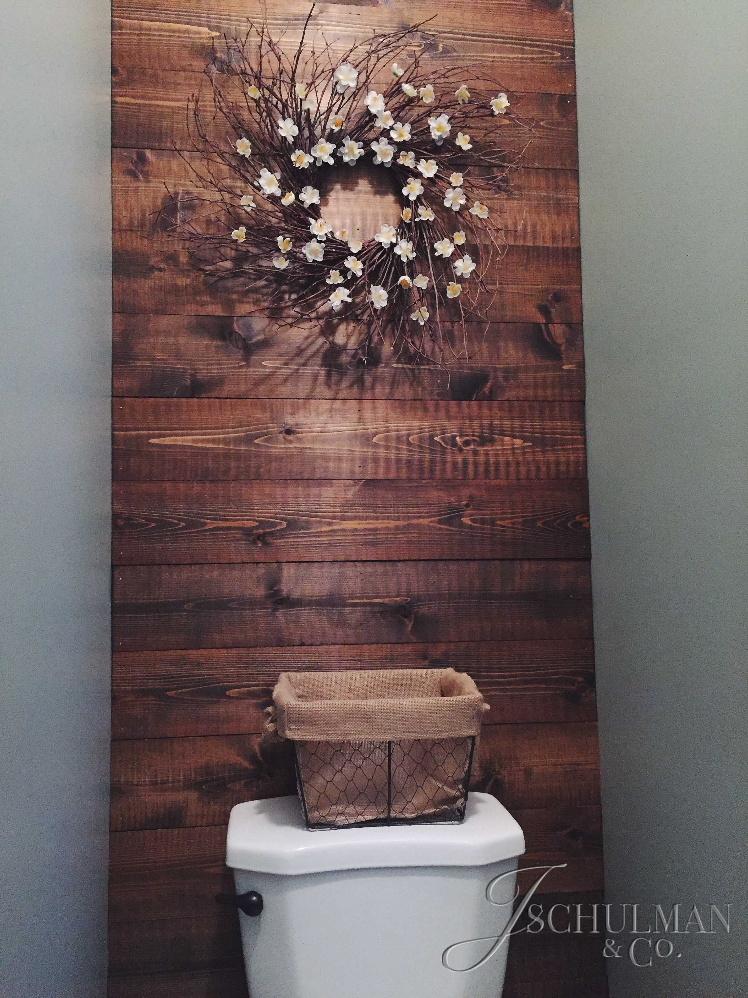 30 Inspiring Accent Wall Ideas To Change An Area | Bathroom Accent Pertaining To Recent Wall Accents For Bathroom (View 1 of 15)