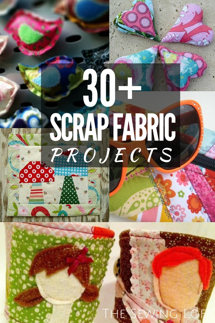 30+ Scrap Fabric Projects – The Sewing Loft Within Most Recently Released Fabric Scrap Wall Art (View 2 of 15)