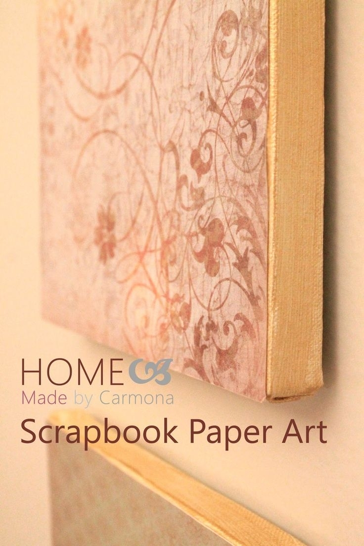 32 Best Canvas Images On Pinterest | Bricolage, Canvas Art And Pertaining To Best And Newest Fabric Decoupage Wall Art (View 13 of 15)