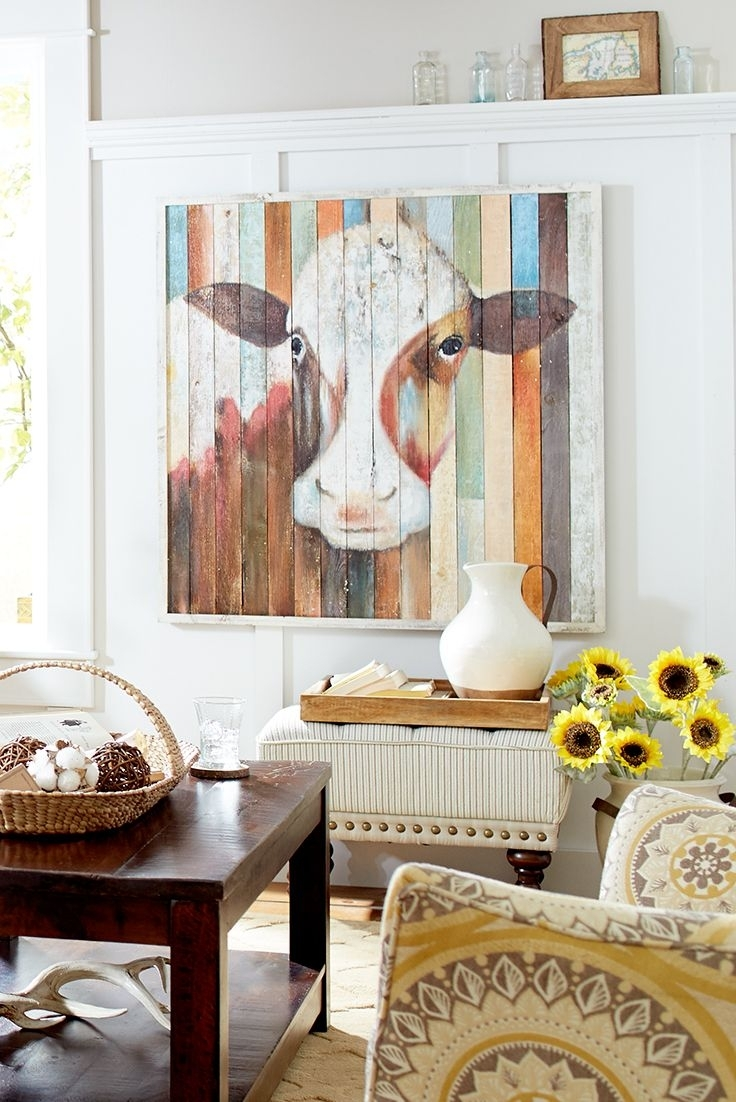 33 Best Wall Decor Images On Pinterest | Canvas Art Paintings With Regard To Best And Newest Wall Accents Made From Pallets (Gallery 11 of 15)