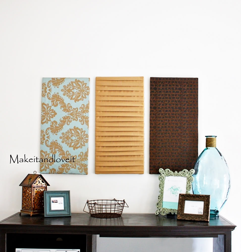 33 Fabric Wall Art Panels, Fabric Wall Panels Mini Homemaker Pertaining To Best And Newest Fabric Wall Art Panels (View 14 of 15)