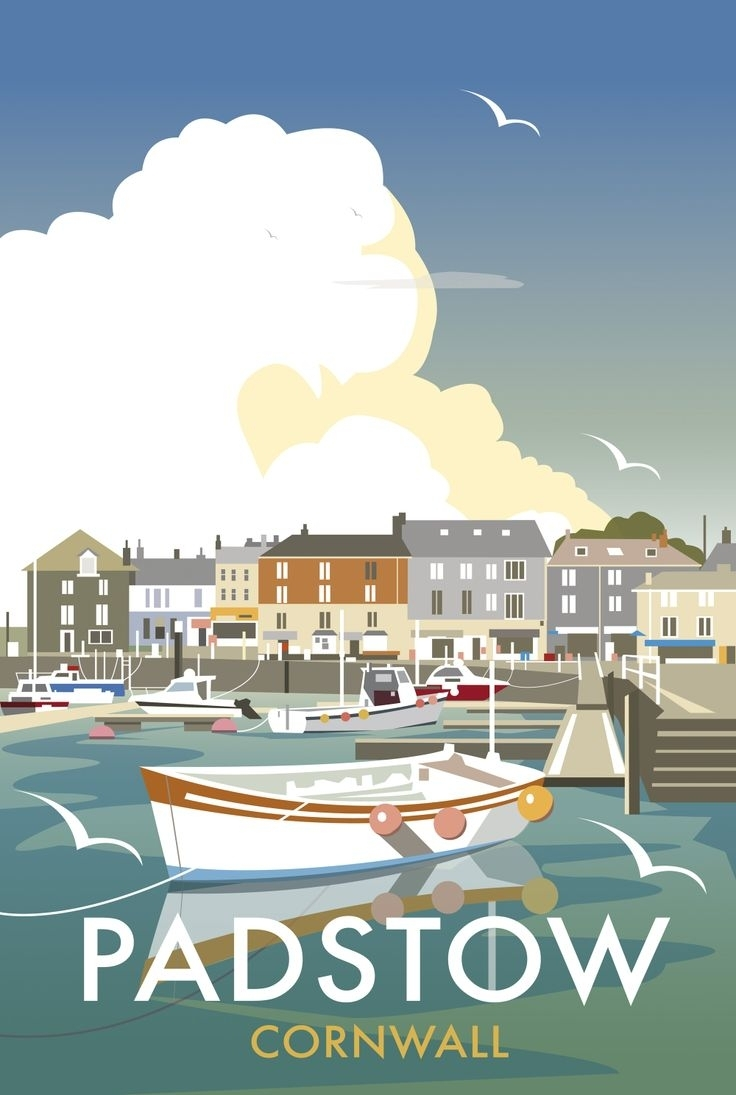 34 Best Padstow Images On Pinterest | Cornwall, Coastal Art And Inside Most Current European Framed Art Prints (Gallery 11 of 15)