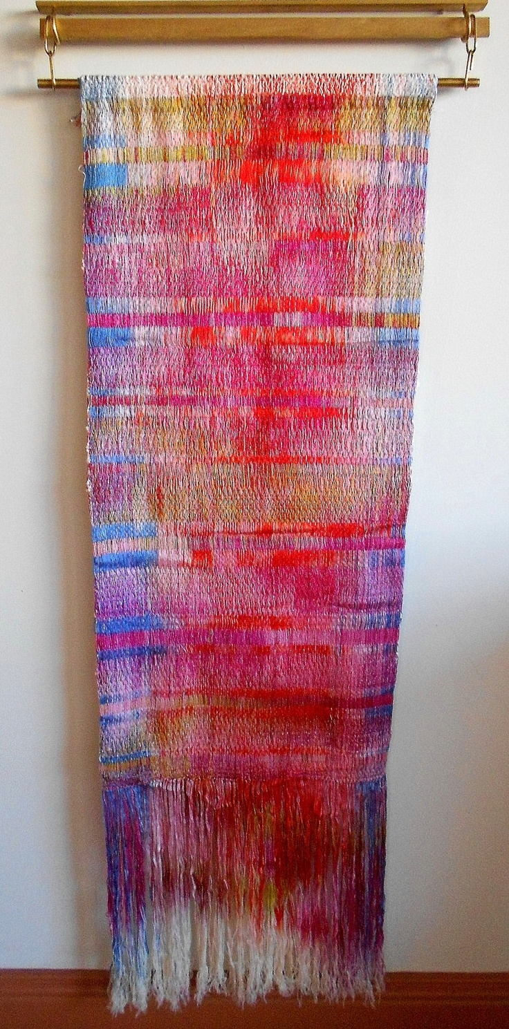 358 Best Weaving Images On Pinterest | Weaving, Tapestries And Pertaining To Most Current Hanging Textile Wall Art (View 1 of 15)