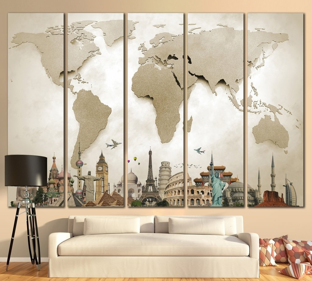 3D Effect Canvas Wall Art – Catwallart Pertaining To Latest Johannesburg Canvas Wall Art (View 1 of 15)