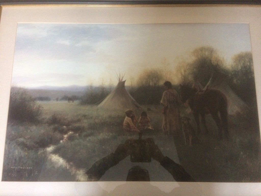 4 Robert Duncan Native American Prints | In Torrington, Devon In Most Up To Date Robert Duncan Framed Art Prints (View 1 of 15)