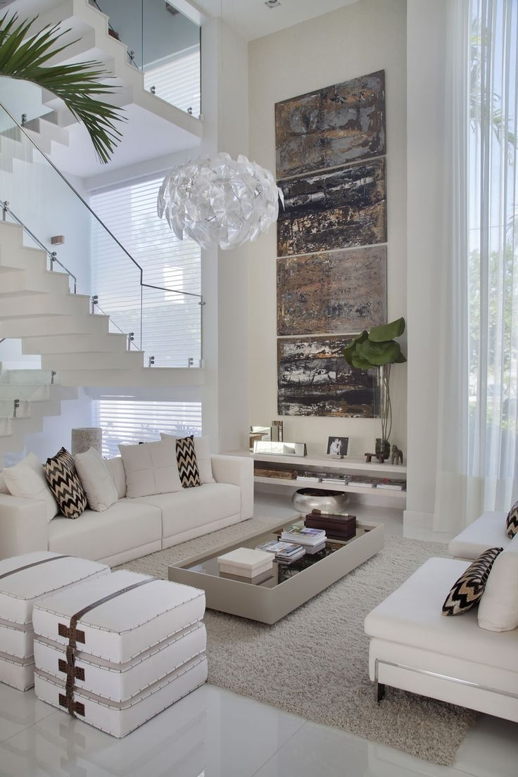 40 Best ~ Modern Home Decor ~ Images On Pinterest | Home Ideas Pertaining To Most Up To Date High Ceiling Wall Accents (View 1 of 15)