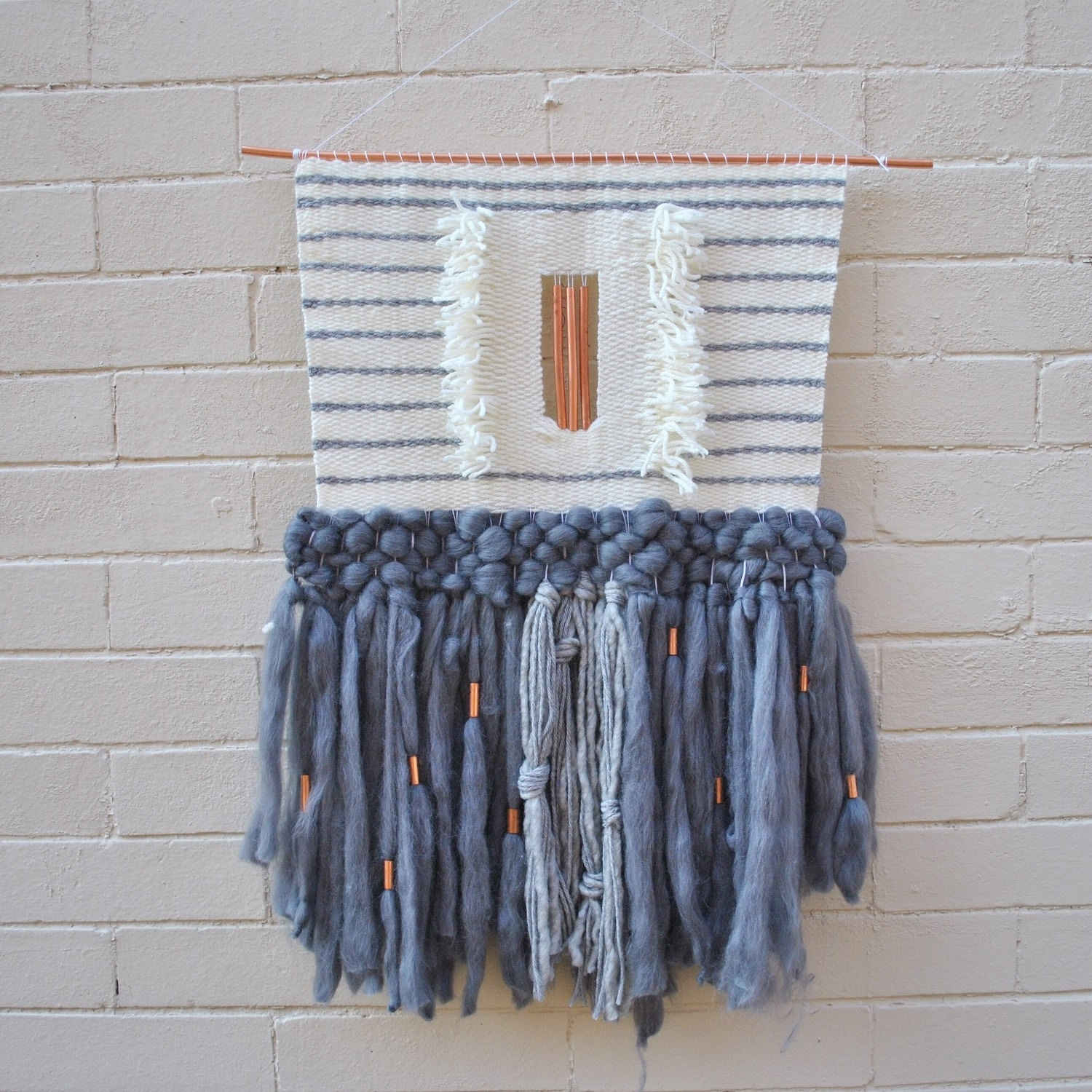 40 Bold And Modern Textile Wall Hangings | Panfan Site Intended For Most Recently Released Hanging Textile Wall Art (View 5 of 15)