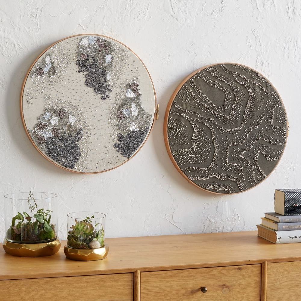 40 Cool Textile Wall Art | Panfan Site Pertaining To Most Popular Textile Wall Art (Gallery 2 of 15)