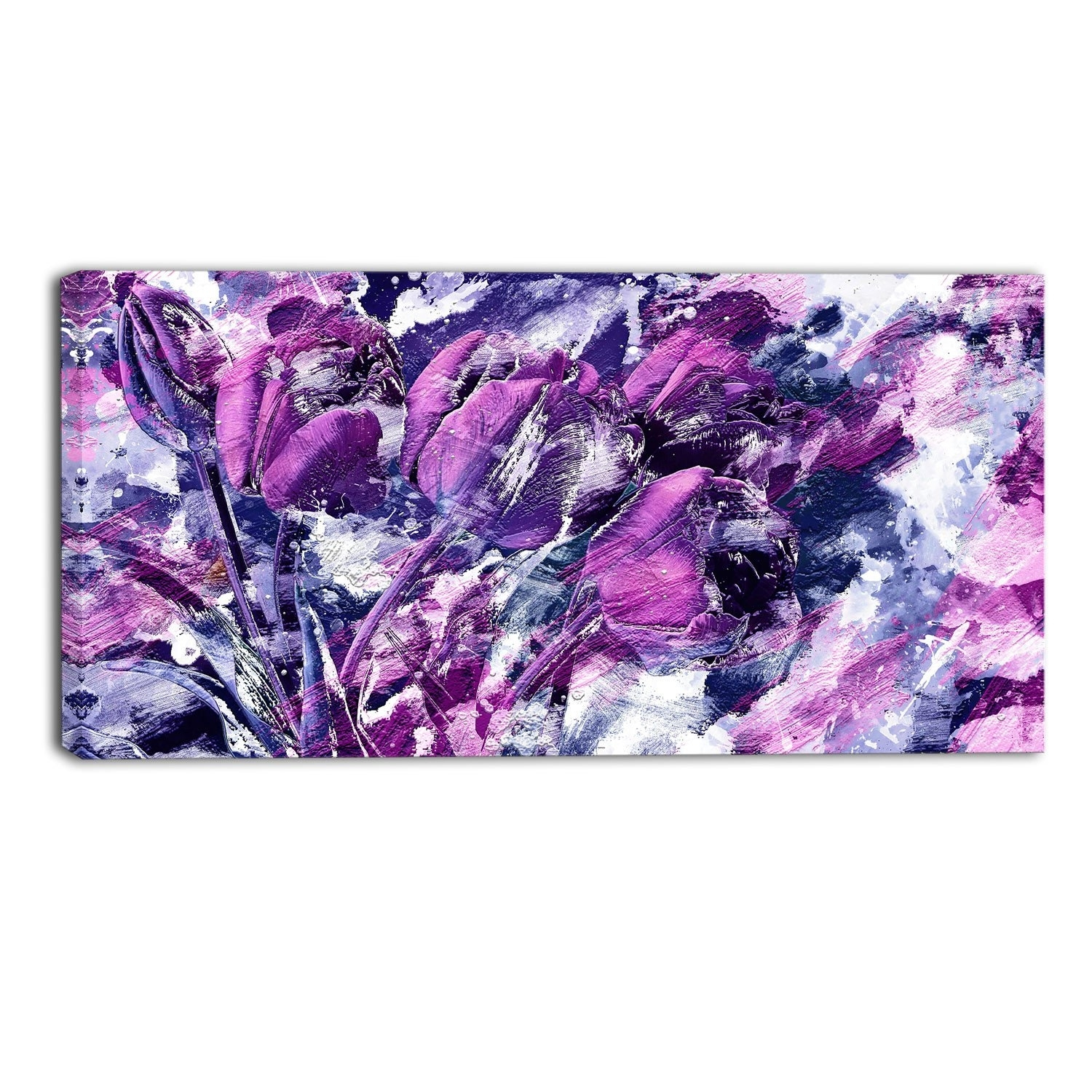 40 Fashionable Purple Canvas Wall Art | Panfan Site Inside Most Popular Canvas Wall Art In Purple (Gallery 5 of 15)