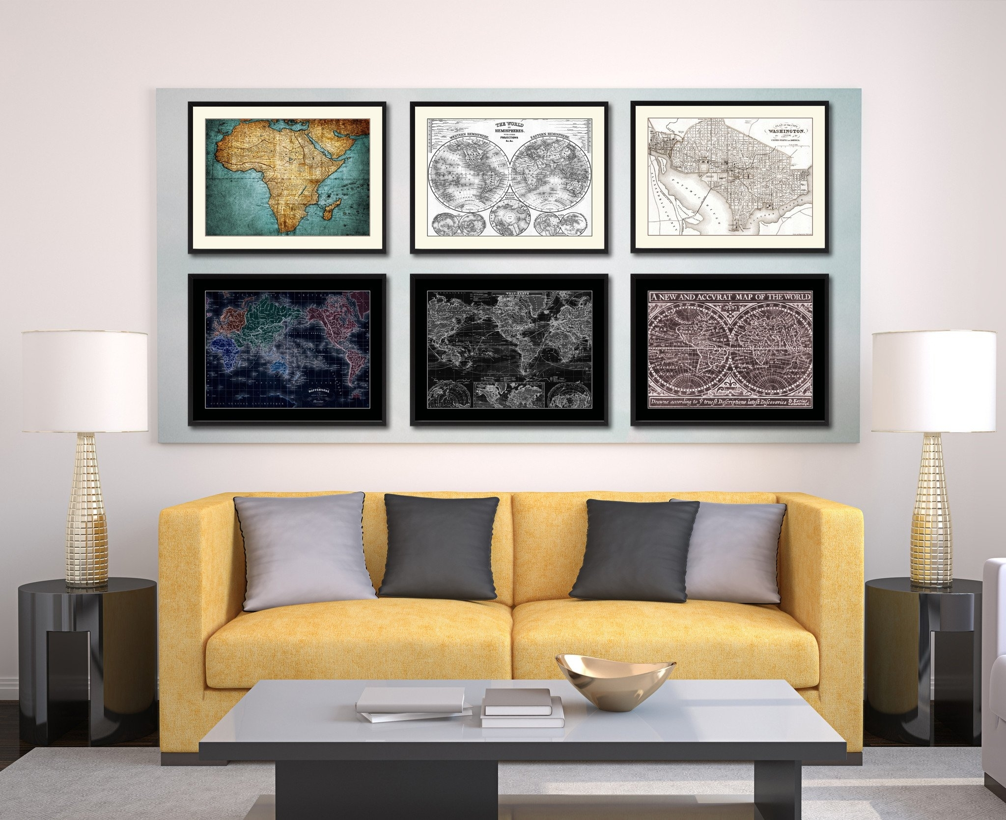40 Sweet Inspiration Washington Dc Wall Art | Panfan Site In 2018 Washington Dc Framed Art Prints (View 1 of 15)