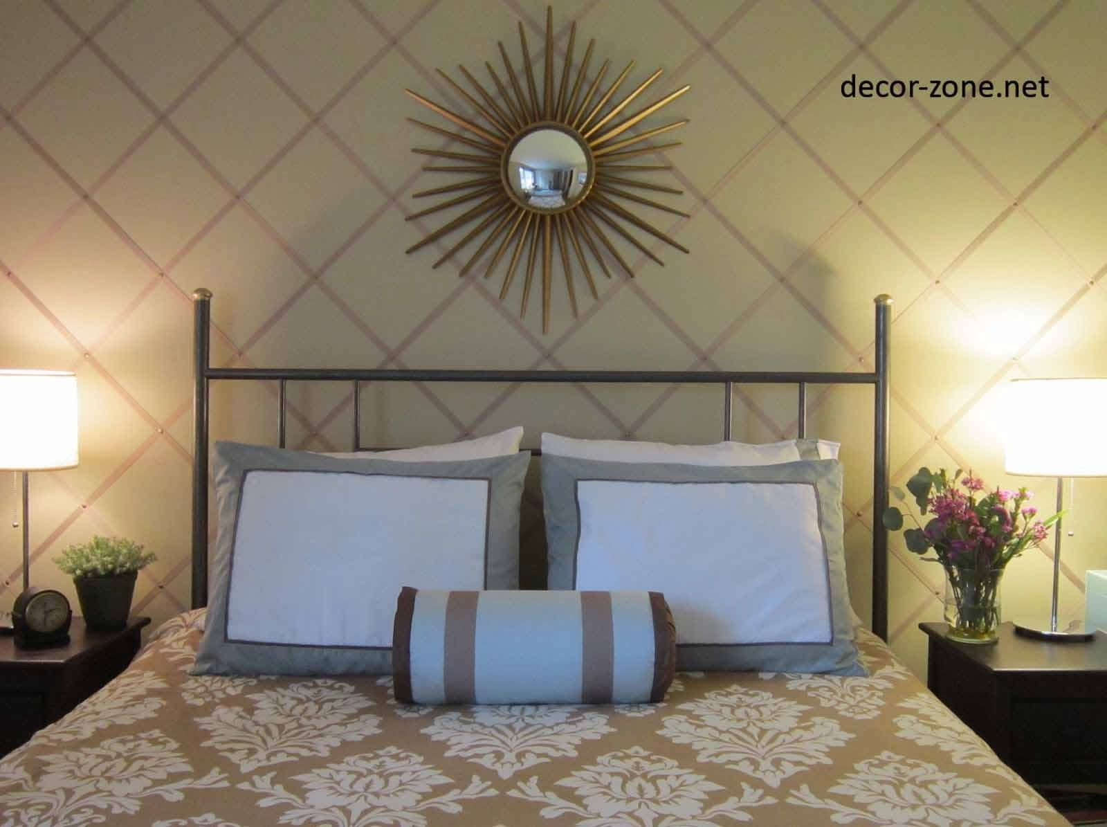40 Unusual Bed Wall Decor   Panfan Site Regarding Most Recent Fabric Wall Art Above Bed (View 2 of 15)