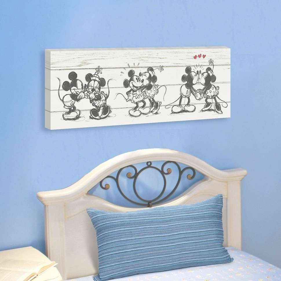 43 Ideas Of Mickey Mouse Canvas Wall Art Pertaining To Most Recent Mickey Mouse Canvas Wall Art (Gallery 15 of 15)