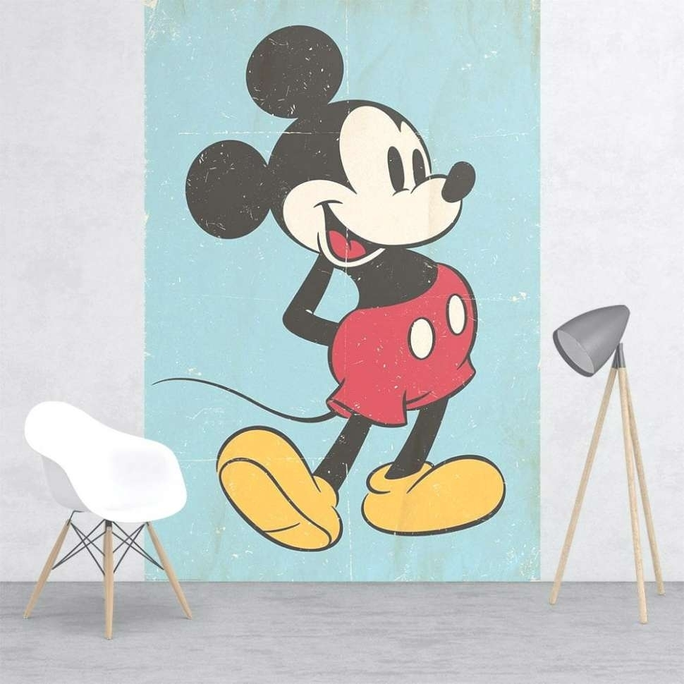 43 Ideas Of Mickey Mouse Canvas Wall Art Throughout Newest Mickey Mouse Canvas Wall Art (Gallery 4 of 15)