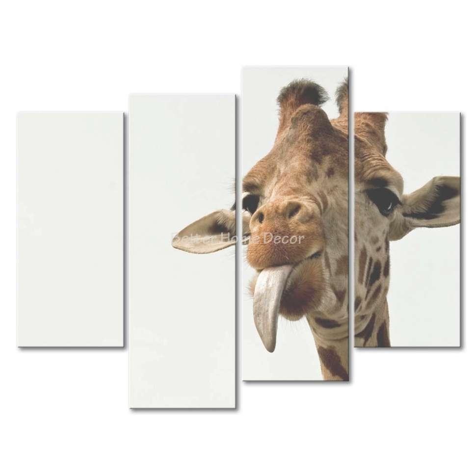 45 Inspirations Of Giraffe Canvas Wall Art Inside Recent Giraffe Canvas Wall Art (View 1 of 15)