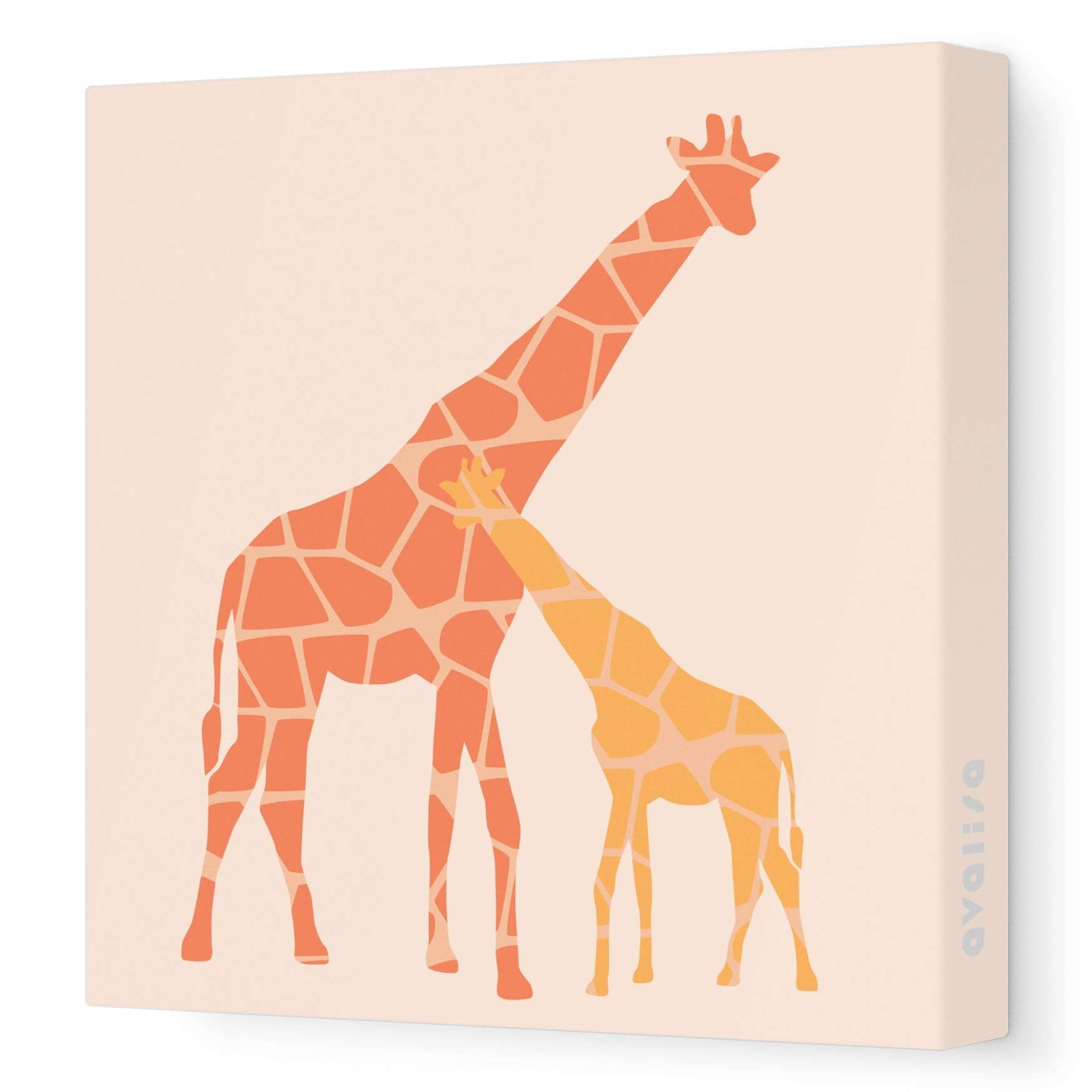 45 Inspirations Of Giraffe Canvas Wall Art Throughout Latest Giraffe Canvas Wall Art (View 2 of 15)