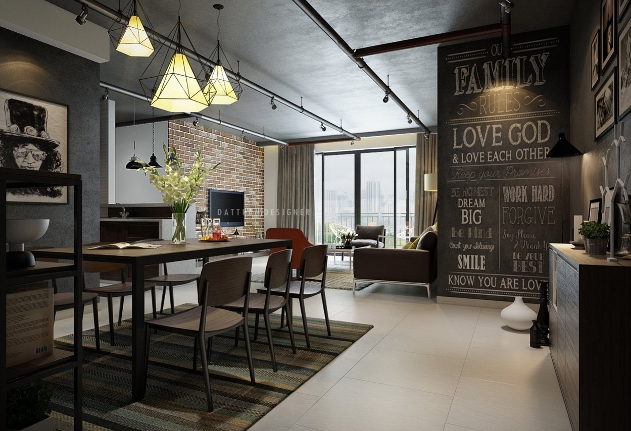5 Houses That Put A Modern Twist On Exposed Brick Exposed Brick Within Recent Exposed Brick Wall Accents (View 3 of 15)