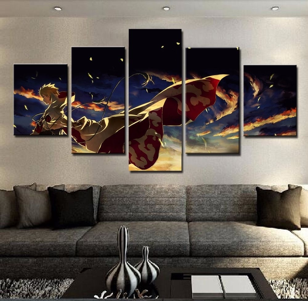 5 Panel Naruto Poster $ 11.74 And Free Shipping Tag A Friend Who Pertaining To Most Current Johannesburg Canvas Wall Art (Gallery 12 of 15)