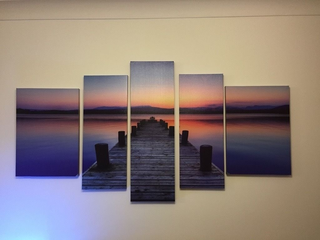 5 Piece Canvas Wall Art | In Sunderland, Tyne And Wear | Gumtree Inside Most Up To Date Gumtree Canvas Wall Art (View 10 of 15)